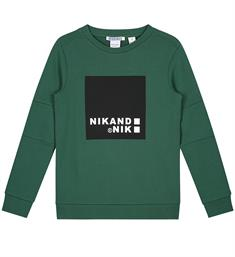 Nik and Nik Sweatshirts B8-251 1905 addy sweater Groen