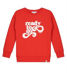 Nik and Nik Sweatshirts G8-037 1904 ready to go sweat Rood