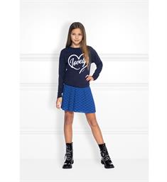 Nik and Nik Sweatshirts G8-106 1905 lovely sweater Navy