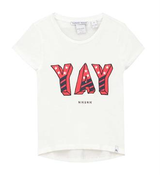 Nik and Nik T-shirts G8-476 lyla Off white
