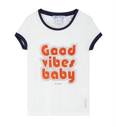 Nik and Nik T-shirts G8-835 piper t- Off white