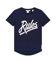 Nik and Nik T-shirts Tuga boys Blauw