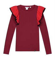 Nik and Nik Tops G7-152 1905 jolie alexa top Rood