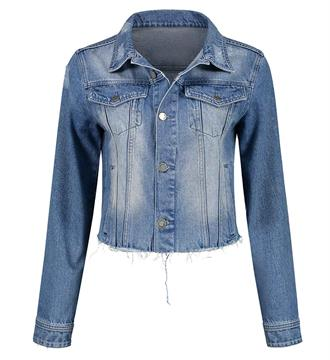 Nikkie Denim jackets N-4-856 bobby h Blue denim