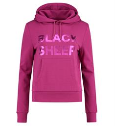 Nikkie Fleece truien N8-536 black sh Roze