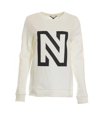 Nikkie Fleece truien N8-868 n sweate Off white