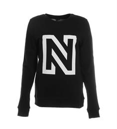 Nikkie Fleece truien N8-868 n sweate Zwart