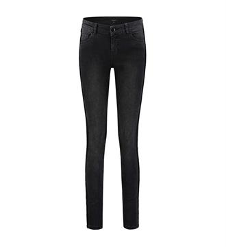 Nikkie Skinny jeans N2099 betty sho Black denim