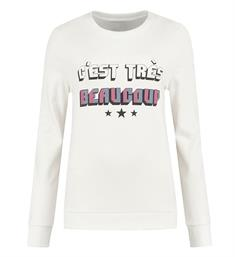 Nikkie Sweatshirts N8-369 1904 tres beaucoup Off-white