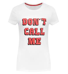 Nikkie T-shirts N6-276 DON'T CA Off white