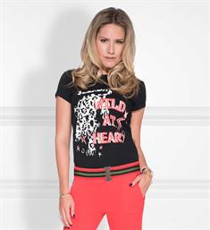 Nikkie T-shirts N6-284 wild at Zwart