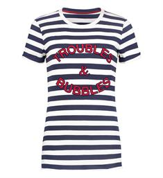 Nikkie T-shirts N6-816 troubles Navy dessin