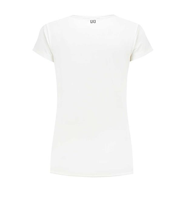nikkie-t-shirts-n6533-on-the-li-off-white