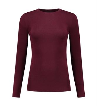 Nikkie T-shirts N7-303 1705 Bordeaux