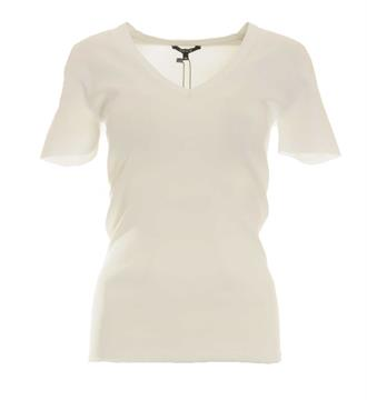 Nikkie T-shirts N7-402 jolie v- Off white
