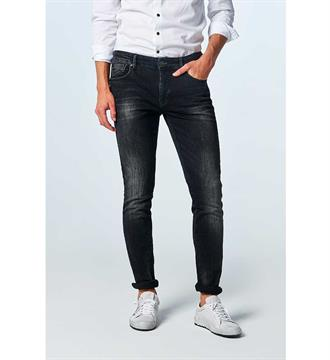 No excess Broeken N710u01 Black denim