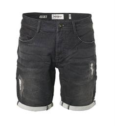 No excess Korte broeken 908190307 Black denim