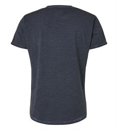No excess Korte mouw T-shirts 90350321 Navy