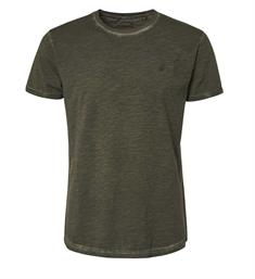 No excess Korte mouw T-shirts 90350421 Army