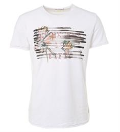 No excess Korte mouw T-shirts 91340604 Wit