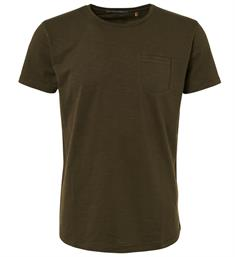 No excess Korte mouw T-shirts 92350701 Army