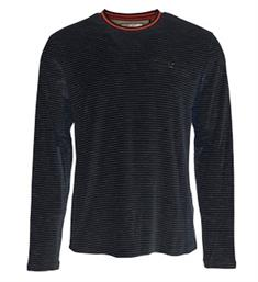 No excess Lange mouw T-shirts 90120101 Navy