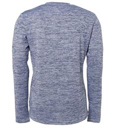 No excess Lange mouw T-shirts 90120205 Blauw