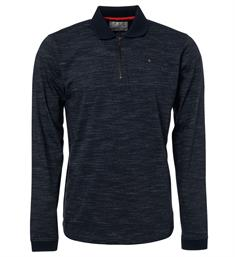 No excess Lange mouw T-shirts 92150890 Navy