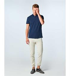 No excess Polo's 85340391 Blauw dessin