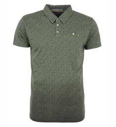 No excess Polo's 86350482 Groen dessin