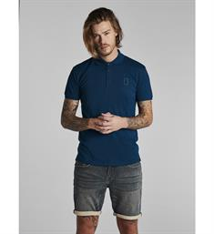 No excess Polo's 91370501 Blauw