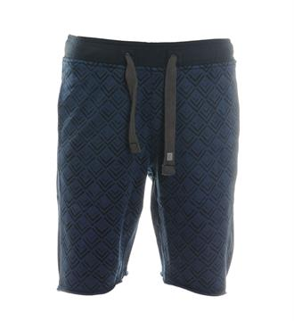 No excess Shorts Blauw dessin