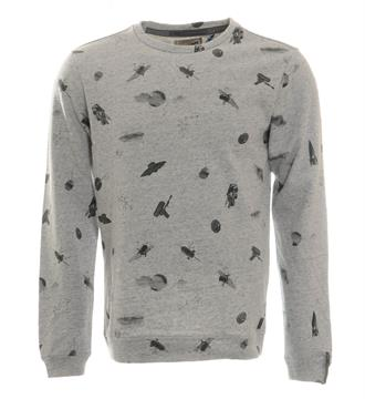 No excess Sweaters 80100211 Grijs melee