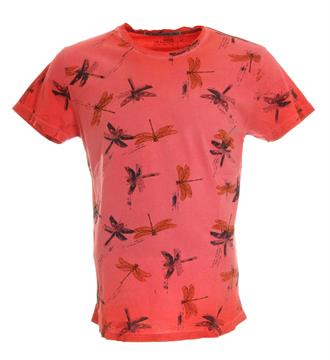 No excess T-shirts 85350216 Rood dessin