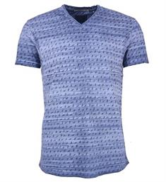 No excess T-shirts 85350311 Blauw dessin