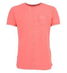 No excess T-shirts 85350313 Koraal rood