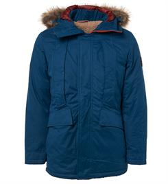 No excess Winterjassen 92630904 Blauw