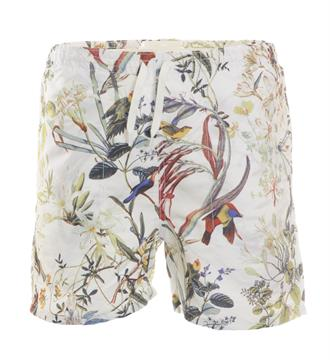 Only and Sons Beachshorts 22005777 Wit dessin