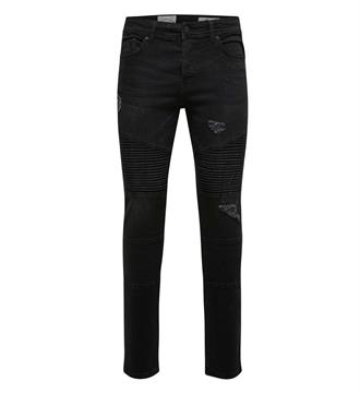 Only and Sons Broeken 22005276 loom Black denim