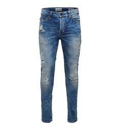 Only and Sons Broeken 22006968 loom Blue denim