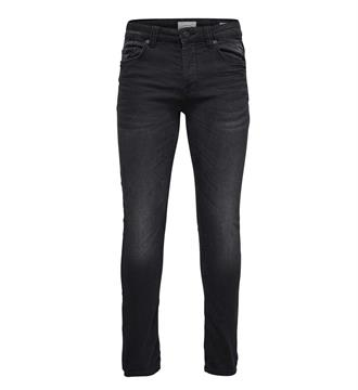 Only and Sons Broeken 22007451 loom Black denim
