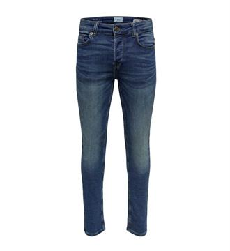 Only and Sons Broeken 22008472 loom Blue denim