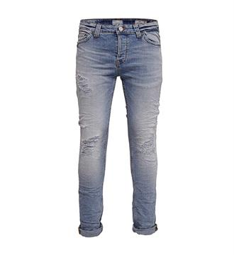 Only and Sons Broeken 22009502 loom Blue denim