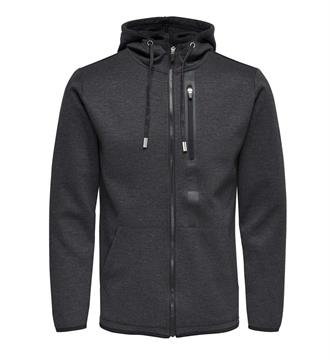 Only and Sons Fleece vesten 22006986 vinn Antraciet