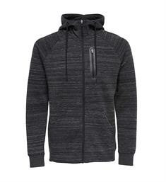 Only and Sons Fleece vesten 22008629 vinn z Antraciet