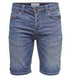 Only and Sons Korte broeken 22008473 bull s Denim