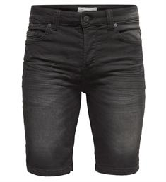 Only and Sons Korte broeken 22008475 bull s Black denim