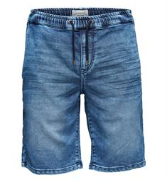Only and Sons Korte broeken 22009062 linus Blue denim