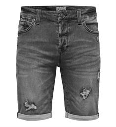 Only and Sons Korte broeken 22009868 bull Grey denim