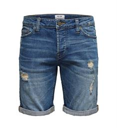 Only and Sons Korte broeken 22012411 onsply damage washed Blauw